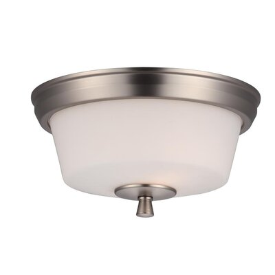 Fielder 2-Light Flush Mount
