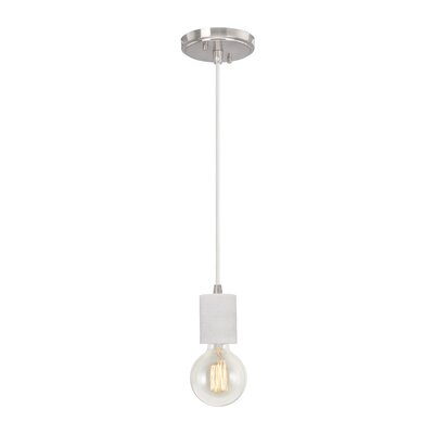 Greenough Adjustable 1-Light Mini Pendant Size: 66.5 H x 4.5 W x 4.5 D