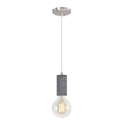 Greenstein Adjustable 1-Light Mini Pendant Size: 67.5 H x 4.5 W x 4.5 D
