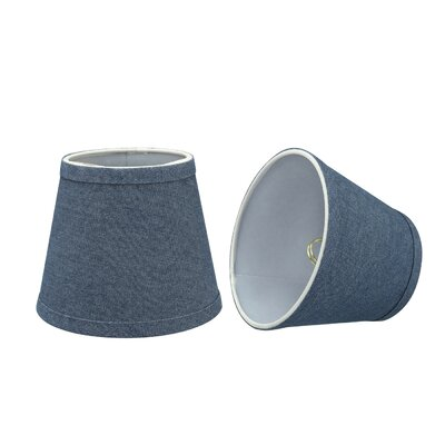Transitional 6 Fabric Empire Lamp Shade Color: Washing Blue