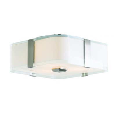 Stallman 3-Light Flush Mount Fixture Finish: Satin Nickel
