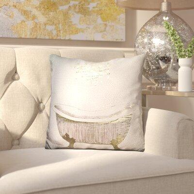 Ingrassia Gilded Bath Throw Pillow