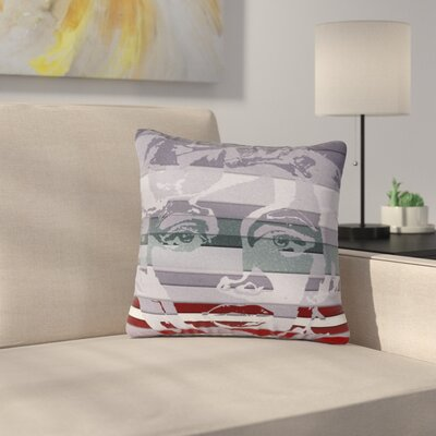 Ivan Joh Star Monroe Lavender Outdoor Throw Pillow Size: 16 H x 16 W x 5 D