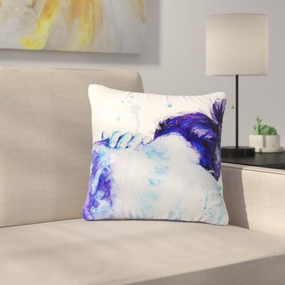 Cecibd Outdoor Throw Pillow Size: 16 H x 16 W x 5 D