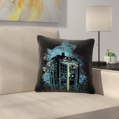 Frederic Levy-Hadida Regeneration Is Coming Outdoor Throw Pillow Size: 16 H x 16 W x 5 D