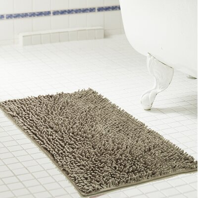 Deavers Bath Rug Size: 20 W x 32 L, Color: Taupe