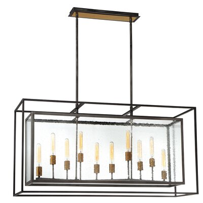 Fechteler 10-Light Kitchen Island Pendant