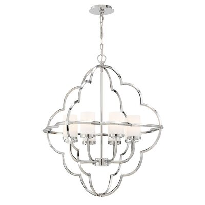 Southfields Ethereal 8-Light Candle Style Chandelier