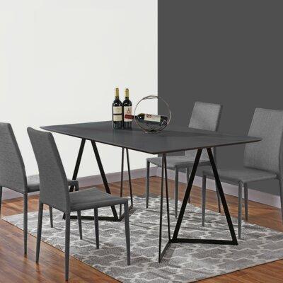 Ravsten Contemporary Dining Table Top Color: Gray
