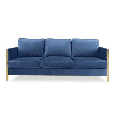 Firenze Sofa Upholstery: Blue