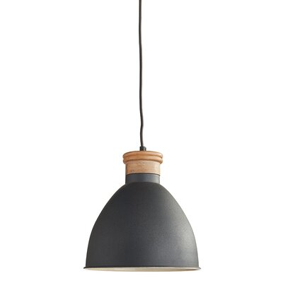 Cosentino 1-Light Inverted Pendant Finish: Black