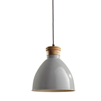 Cosentino 1-Light Inverted Pendant Finish: Gray