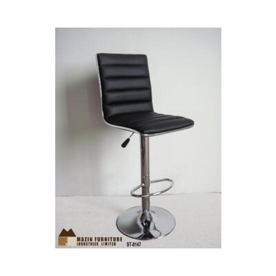 Sippel Adjustable Height Swivel Bar Stool