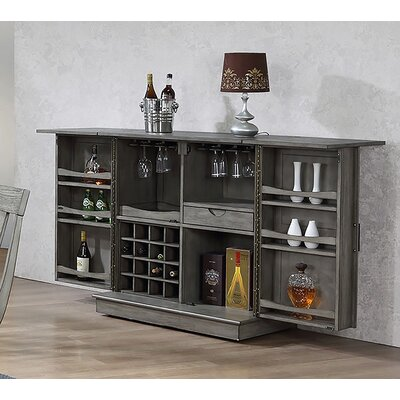 Vergara Expandable Bar Cabinet