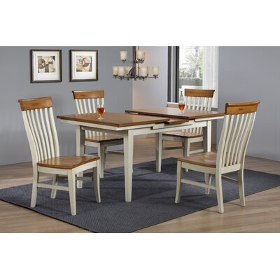 Anciaux Dining Table Base Color: Rustic White