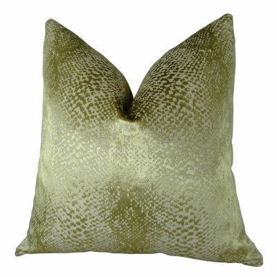 Franks Metallic Luxury Throw Pillow