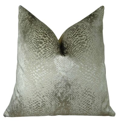 Fransen Metallic Larry Laslo Luxury Throw Pillow