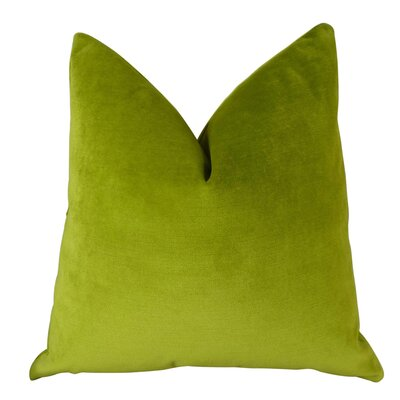 Angwin Luxury Throw Pillow Size: Double Sided 18 x 18, Fill Material: Insert Option: 95/5 Feather/Down
