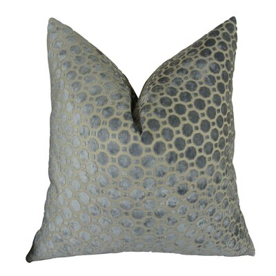 Jones Street Designer Throw Pillow Size: Double Sided 20 x 20, Fill Material: Insert Option: 95/5 Feather/Down