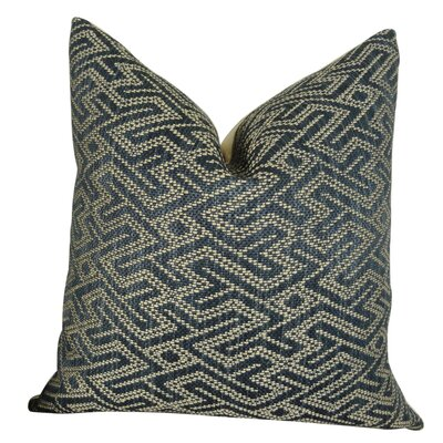 Frausto Graphic Maze Luxury Couch Pillow