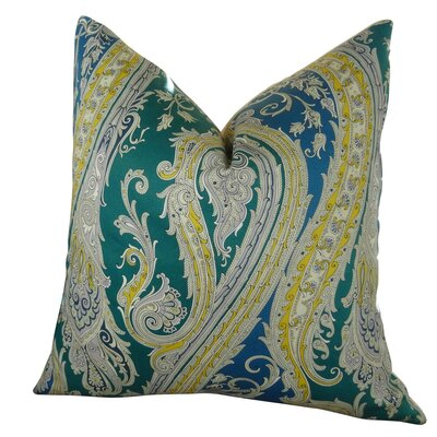 Edmiston Paisley Luxury Throw Pillow