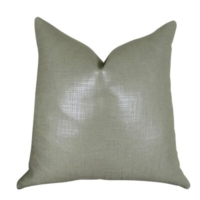Frechette Metallic Steel Luxury Pillow Size: Double Sided 26 x 26, Fill Material: Insert Option: 95/5 Feather/Down
