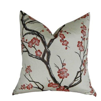 Krauthamer Cherry Blossom Luxury Throw Pillow