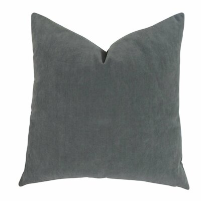Jordon Designer Throw Pillow Size: Double Sided 16 x 16, Fill Material: Insert Option: H-allrgnc Polyfill