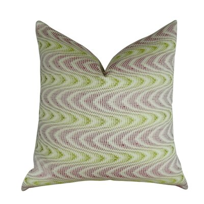 Mcmartin Wavy Graphic Swirl Throw Pillow