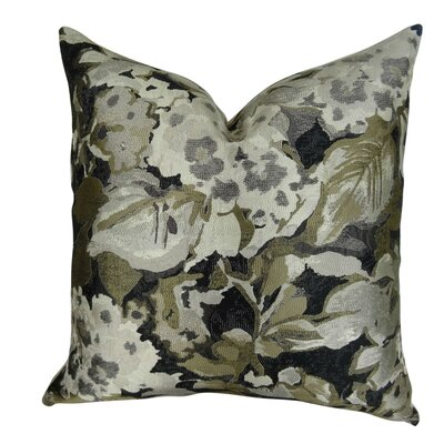 Eells Designer Floral Throw Pillow