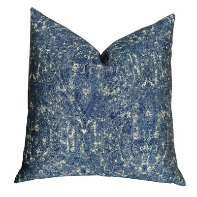 Mckim Graphic Luxury Throw Pillow Size: Double Sided 16 x 16, Fill Material: Insert Option: 95/5 Feather/Down