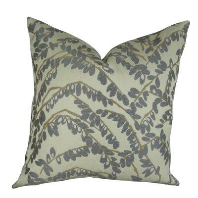 Dennett Olive Branch Throw Pillow