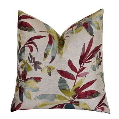 Eells Fuchsia Citrine Pattern Throw Pillow