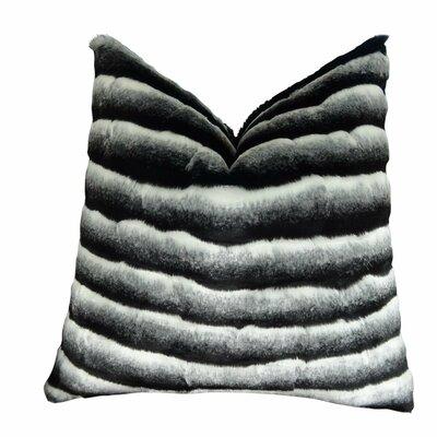 Joyal Chinchilla Faux Fur Throw Pillow