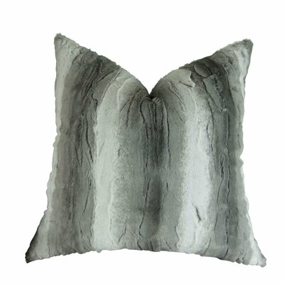 Picard Cuddle Throw Pillow Size: Double Sided 26 x 26, Fill Material: Insert Option: 95/5 Feather/Down