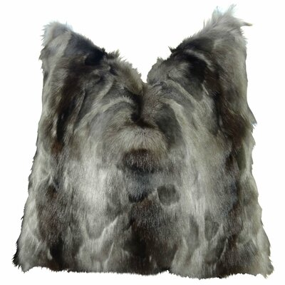 Wagenen Fox Faux Fur Throw Pillow