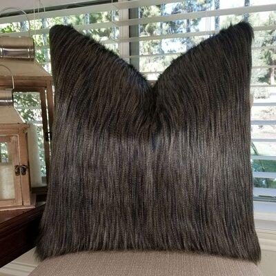 Jurado Ostrich Faux Fur Throw Pillow