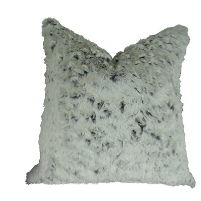 Penick Luxury Tissavel Faux Fur Throw Pillow