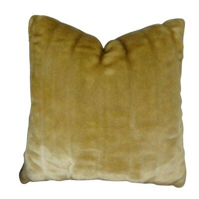 Piccirillo Tissavel Shar Pei Mink Faux Fur Throw Pillow