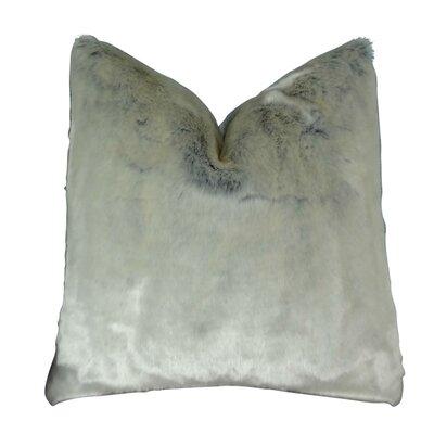 Juarez Luxury Ice-Tissavel Faux Fur Throw Pillow