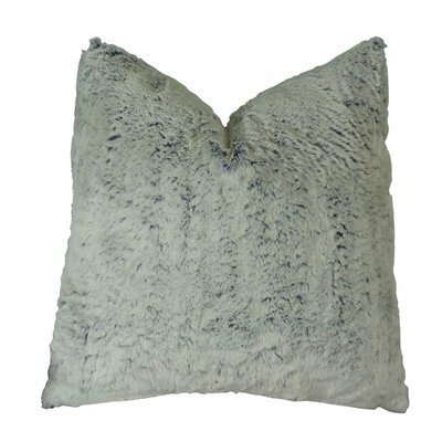 Juliano Frost Soft Cuddle Throw Pillow Size: Double Sided 22 x 22, Fill Material: Insert Option: 95/5 Feather/Down