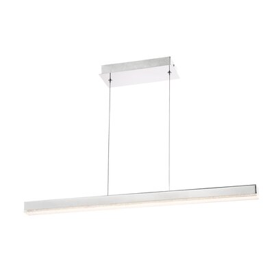 Sturgeon 1 -Light LED Kitchen Island Pendant Size: Small ( 2 H x 36 W x 2 D)
