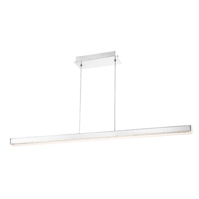 Sturgeon 1 -Light LED Kitchen Island Pendant Size: Large ( 2 H x 48.5 W x 2 D )