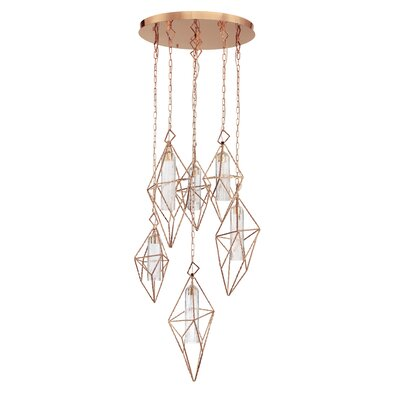 Pontiff 6-Light LED Cluster Pendant