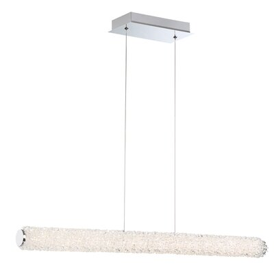 Sturgill 1-Light LED Kitchen Island Pendant Size: 2.5 H x 2.5 W x 36 D
