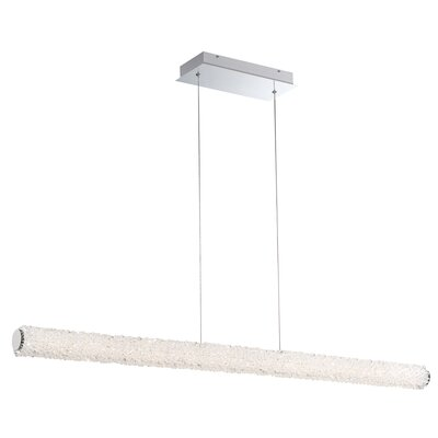 Sturgill 1-Light LED Kitchen Island Pendant Size: 2.75 H x 2.75 W x 48 D