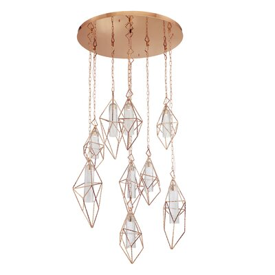 Pontiff 9-Light LED Cluster Pendant