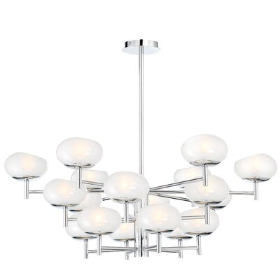 Sturtevant Whimsical 18-Light Sputnik Chandelier