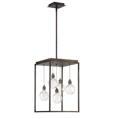 Fenagh 5-Light LED Foyer Pendant
