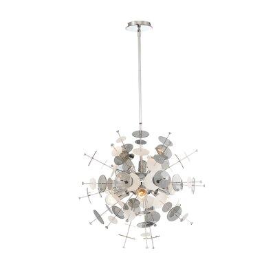 Suai Retro 6-Light Sputnik Chandelier Color: Chrome